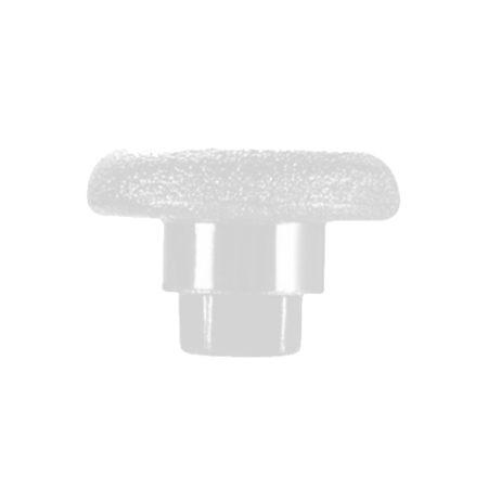 Thumbstick Aufsatz Playstation Form – weiß / lang