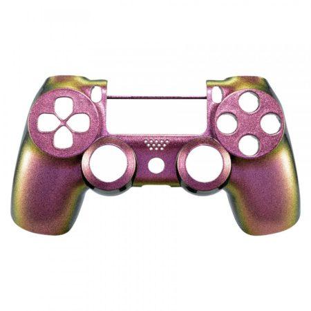 Oberschale kompatibel zu Playstation 4 | PS4 Controller V2 (Pro & Slim / JDM-040) (Flip Flop lila-grün)