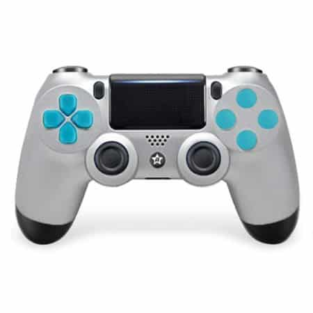 Custom Controller 4PS | Paddles X+O | Silver Star