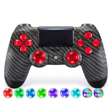 Custom Controller 4PS | Carbon + LED
