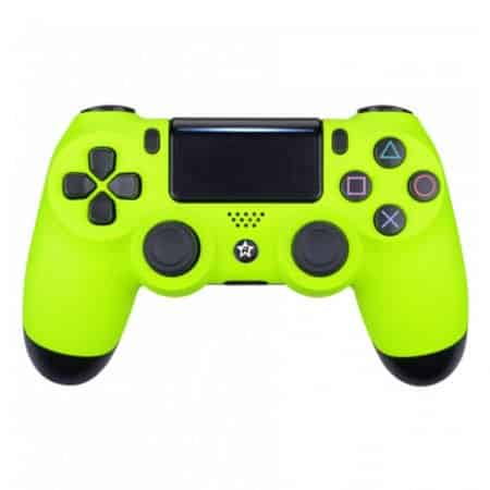 Custom Controller 4PS | Paddles X+O | Neon gelb