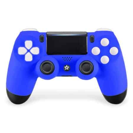 Custom Controller 4PS | Paddles X+O | Blue Wave