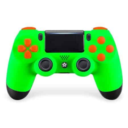 Custom Controller 4PS | Paddles X+O | Green Mamba