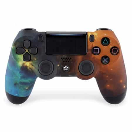 Custom Controller 4PS | Paddles X+O | Galaxy Design