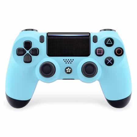 Custom Controller 4PS | Paddles X+O | babyblau