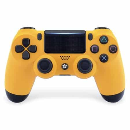 Custom Controller 4PS | Paddles X+O | gelb