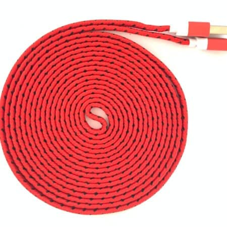 Micro USB Ladekabel 3 Meter für PS4 / XBOX One Controller – rot / schwarz